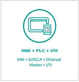 HMI+PLC+I-O